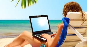 Image result for httpwww.writers jobboard.comwp-content uploads 201501 cropped-bigstock-Laptop-On-Beach-Sun-6188505.jpg