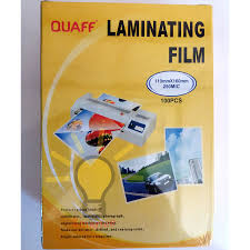 1 pack Lamination Film 4R size | Shopee Philippines