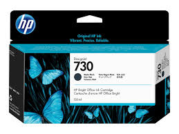 <b>HP 730</b> (P2V65A) <b>Matte</b> Black <b>DesignJet</b> Ink Cartridge - 130ml ...