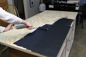 how to paint kitchen countertop