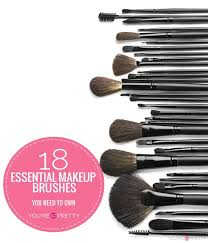 18 essential makeup brushes to own check it out at youresopretty