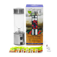 <b>Портативный блендер Take It</b> X4, серый (LikeTo 11327.10 ...