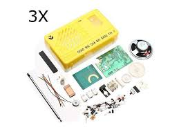 <b>3Pcs</b> AM FM Radio <b>Electronics</b> Kit <b>Electronic DIY</b> Learning Kit