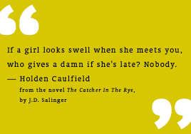 Book Review] The Catcher In The Rye :: BITTERDICT