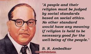 Chairman of the Constitution Drafting Commitee Dr. B.R. Ambedkar ...