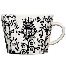 <b>Чашка кофейная Taika</b>, черная (артикул 12524.30) - Проект 111