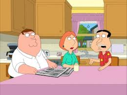 guy kitchen meg: quagmires father begins to undergo some changes and he has some surprising revelations for his son and the entire family guy community