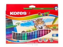 Купить <b>Фломастеры Kores 20 цветов</b> 313361 по низкой цене в ...