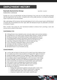 mechanic resume sample cv resume mechanic resume automotive mechanic resume example sample resume template resume templates mechanic resume templates select