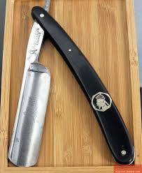 Mandarin 231 <b>6/8</b> Rasiermesser ,straight <b>razor</b>, coupe choux, | <b>Бритва</b>