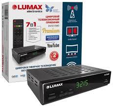 TV-<b>тюнер LUMAX</b> DV-3215HD — купить по выгодной цене на ...