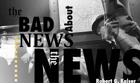 the bad news about the news brookings institution newspaper reader on train