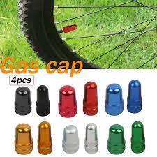 Red/Black/Blue/Gold <b>Durable 2Pcs Bicycle Tire</b> Valve Stem Rim ...