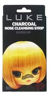 <b>Очищающие полоски</b> против черных точек Charcoal Nose ...