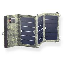<b>Portable Camouflage Colors 20W</b> Folding Solar Panel Charger ...