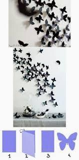 <b>Beautiful Butterfly</b> Wall <b>Decoration</b> | DIY & Crafts Tutorials | Diy ...
