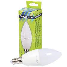 <b>Лампа</b> светодиодная <b>Ergolux</b> Свеча LED 13167, 9 Вт, <b>E14</b> ...