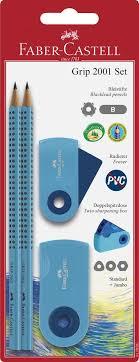 <b>Faber</b>-<b>Castell</b> Набор карандашей <b>Grip 2001</b> 2 шт с <b>ластиком</b> и ...