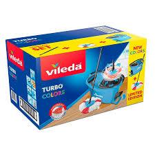 Набор для уборки Турбо <b>Колорс Vileda</b> (Turbo <b>Colors</b>, швабра + ...