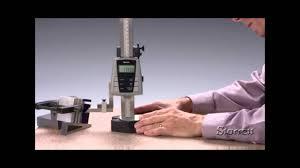 Starrett 3752 <b>Electronic Height Gage</b> - YouTube
