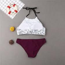 Online Shop Parent-child <b>Swimwear Mother Daughter Swimsuit</b> ...