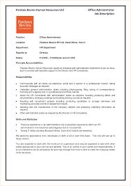 office administrator duties description cover letter resume office administrator duties description office administrator job description resume and cover administration job description template business
