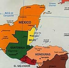 Image result for belize map