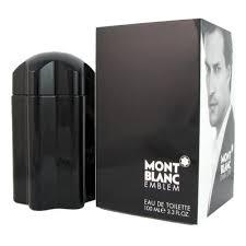 <b>MONT BLANC EMBLEM</b> 3.4 EAU DE TOILETTE SPRAY FOR MEN ...