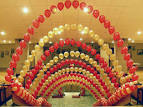 Арка из шариков гелий