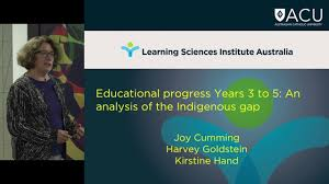 professor joy harvey examining educational progress of professor joy harvey examining educational progress of indigenous and non indigenous