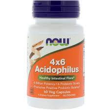 <b>Acidophilus 4x6</b> (ацидофильные бактерии), <b>60 растительных</b> ...