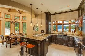 the rustic kitchen lighting 7 main designing secrets breakfast nook lighting ideas