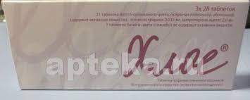 <b>Хлое n84 табл</b> п/плен/оболоч - цена 1875 руб., купить в интернет ...