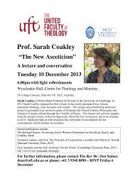 theology reddresstheology sarah coakley flyer uft