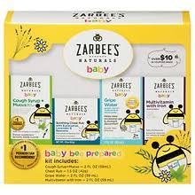 ZarBee's <b>Naturals Baby Bee Prepared</b> Kit | Walgreens