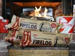 KFC FIRE LOG ENVIROLOG KENTUCKY FRIED CHICKEN 11 ...