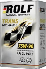 <b>Масло трансмиссионное ROLF</b> Transmission plus 75W-90 GL-4/5 1л