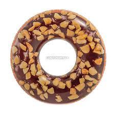 <b>Круг надувной</b> Intex 56262 <b>Пончик</b>, 114 см - купите по низкой ...