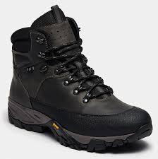 <b>Высокие ботинки</b> мужские HIKER (цвет серый, натуральная кожа ...