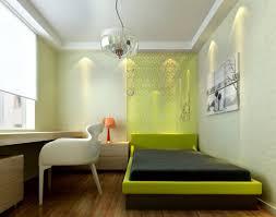 Modern Minimalist Bedroom Green Theme