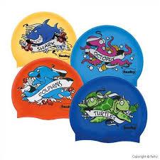 <b>Шапочка для плавания Fashy</b> Fashy Childrens Silicone Cap 3047 ...