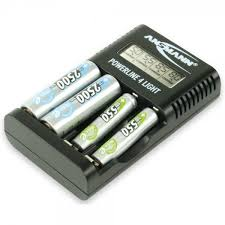 <b>Ansmann battery tester</b> with LCD display for round and button cell ...