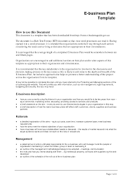 business format template business template