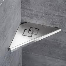 China Stainless <b>Triangular</b> Bathroom <b>Corner</b> Wall Shelf - China ...
