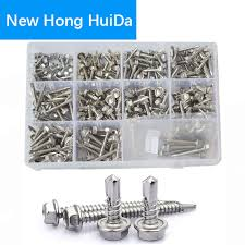 <b>External Hex Self Drilling</b> Screws Hexagon Metric Thread Self Self ...