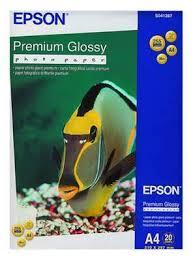 <b>Фотобумага Epson</b> S041287 <b>Premium Glossy</b> Photo Paper/ A4 ...