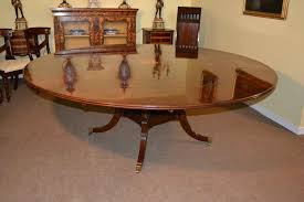 7ft dining table:   stunning ft diameter mahogany jupe dining table