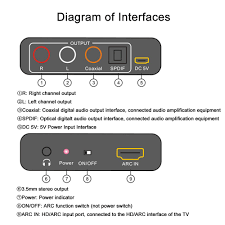 Docooler <b>AY80</b> ARC <b>Audio</b> Extractor HD-ARC- Buy Online in ...
