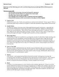 buy macbeth essay   professional resume services online jobsliterary essay example