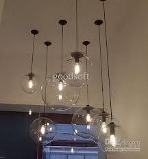 living room light fixture glass bulb
